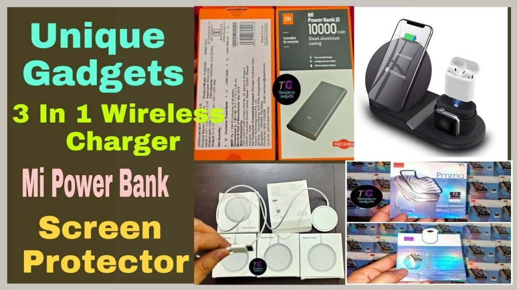 Unique Gadgets Wireless Charger Mi power bank Magsaf wireless Charger Screen Protector Science & Technology