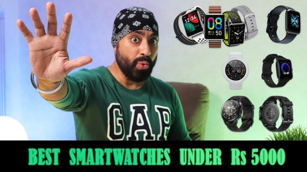 TOP 5 BEST SMARTWATCHES UNDER Rs 5000 in 2021 - Which one should you Buy? ? Science & Technology