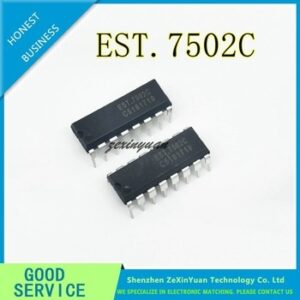10PCS/LOT EST.7502C EST7502C EST7502 DIP-16 NEW IC