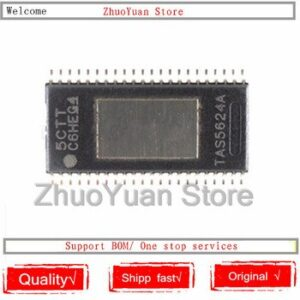 1PCS/lot New original TAS5624ADDVR TAS5624A TAS5624 HTSSOP-44 IC Chip