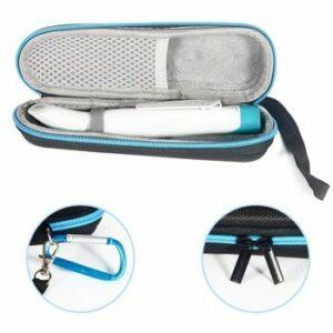 2019 new Portable EVA Travel Storage Case for Bite Away Stick Treatment Device Box (black-grey) only case