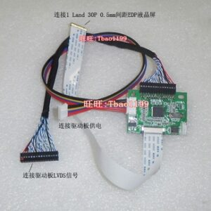 3.3V 30 Pin LVDS Turn To EDP Signal LCD Converter Conversion Controller Board