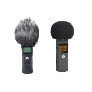 Furry Windscreen Muff Cover Foam Filter Microphone Windproof Cover for Zoom H1 95AF AliExpress