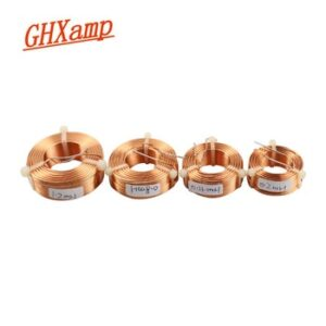 GHXAMP 0.8mm Speaker Crossover Inductance Copper coil Oxygen Free Copper Inductor HIFI Audio Accessories 0.2mH 0.8mH 1.2mH 1Pcs
