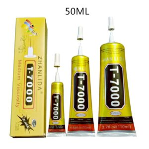50 ml T7000 Glues Multipurpose Adhesives Super Glues Black Liquid Epoxy Glues For DIY Crafts Glass Phone Case Metal Fabric