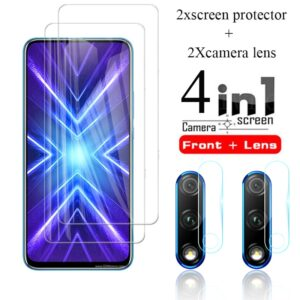 For honor 9x glass protective glass on honor 9x premium honor9x global edition stk-lx1 6.59'' camera lens film on honer 9 x x9