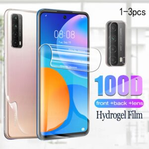 front back hydrogel film for huawei P smart 2021 screen protector for huawei Psmart huavei P smart 2021 protective film glass