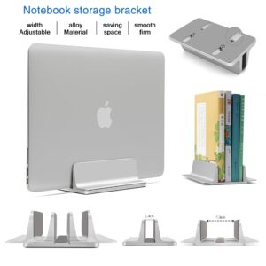 Alloy Standing Desk Laptop Stand Storage Adjustable Book Tablet Notebook Holder For Macbook Pro Air DELL iPad Laptop Accessories