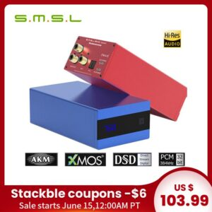 SMSL SK10 MKII Sanskrit 10th MKII AK4493 24Bit /384KHZ DSD256 High-End DAC Decoder AliExpress