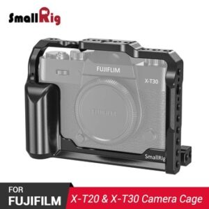 SmallRig XT30 Cage for Fujifilm X-T30 and X-T20 Camera Feature with QR Arca Compatible Dovetail Plate on the Bottom CCF2356