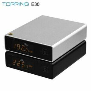 TOPPING E30 MINI HIFI USB DAC AK4493 decoder XMOS XU208 32BIT / 768Khz DSD512