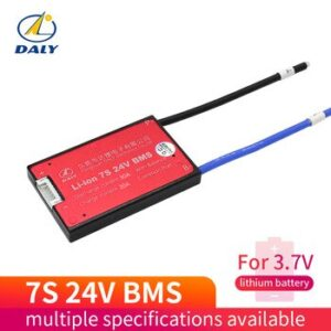 Waterproof 7S 15A 20A 30A 40A 60A 24V Lithium Battery Protection Board BMS Electric Charge Li Lipo NiCoMn ion Cells with balance