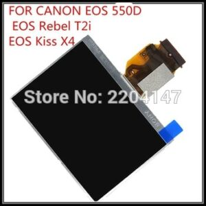 original new SLR 550D LCD Display Screen For CANON EOS 550D EOS550D lcd With Backlight camera repair parts free shipping